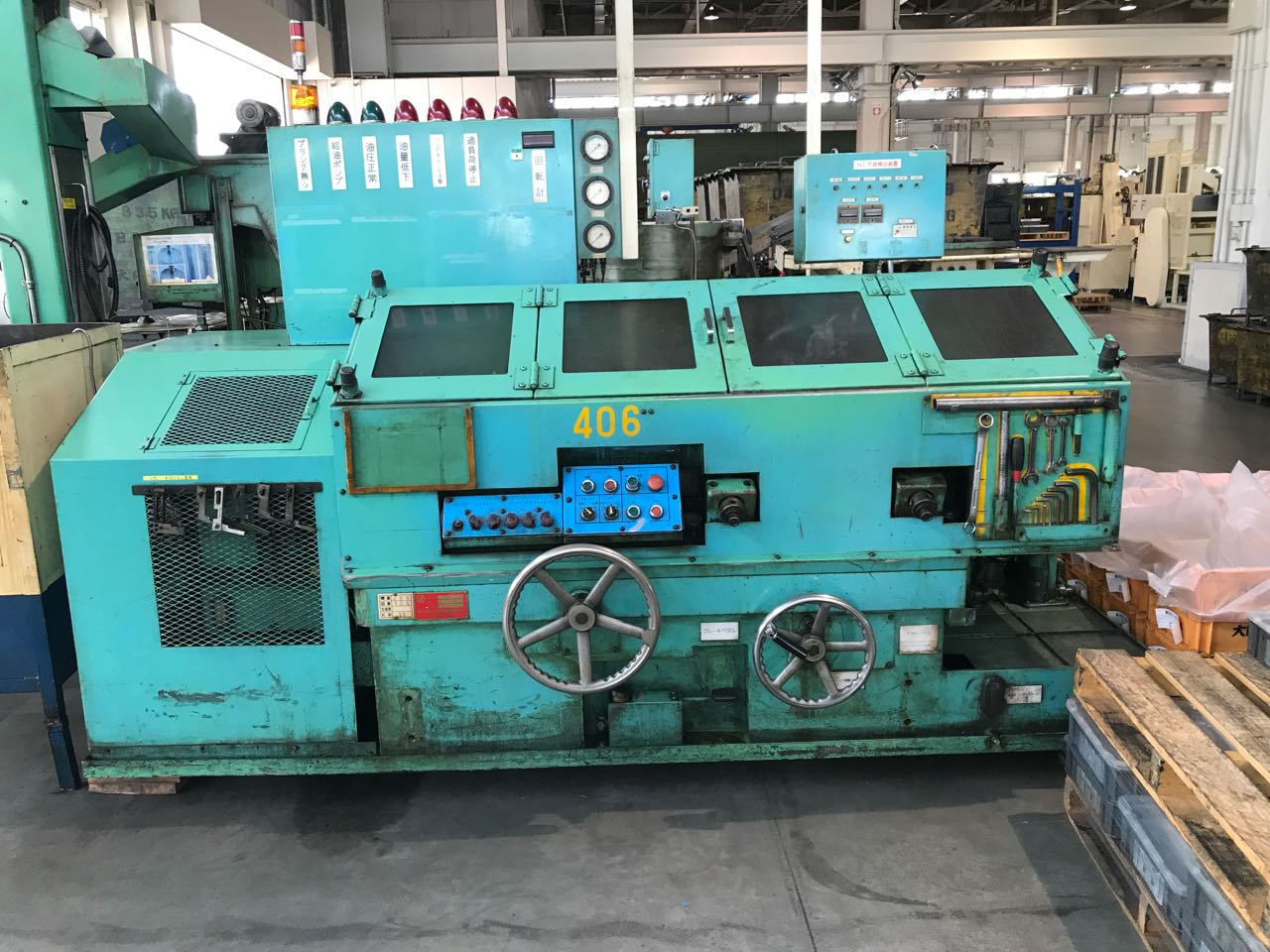 Tanisaka Model 20-225 High Speed Thread Roller