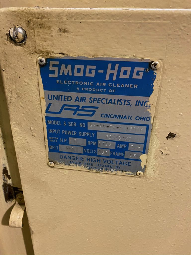 Smog Hog Air Cleaner