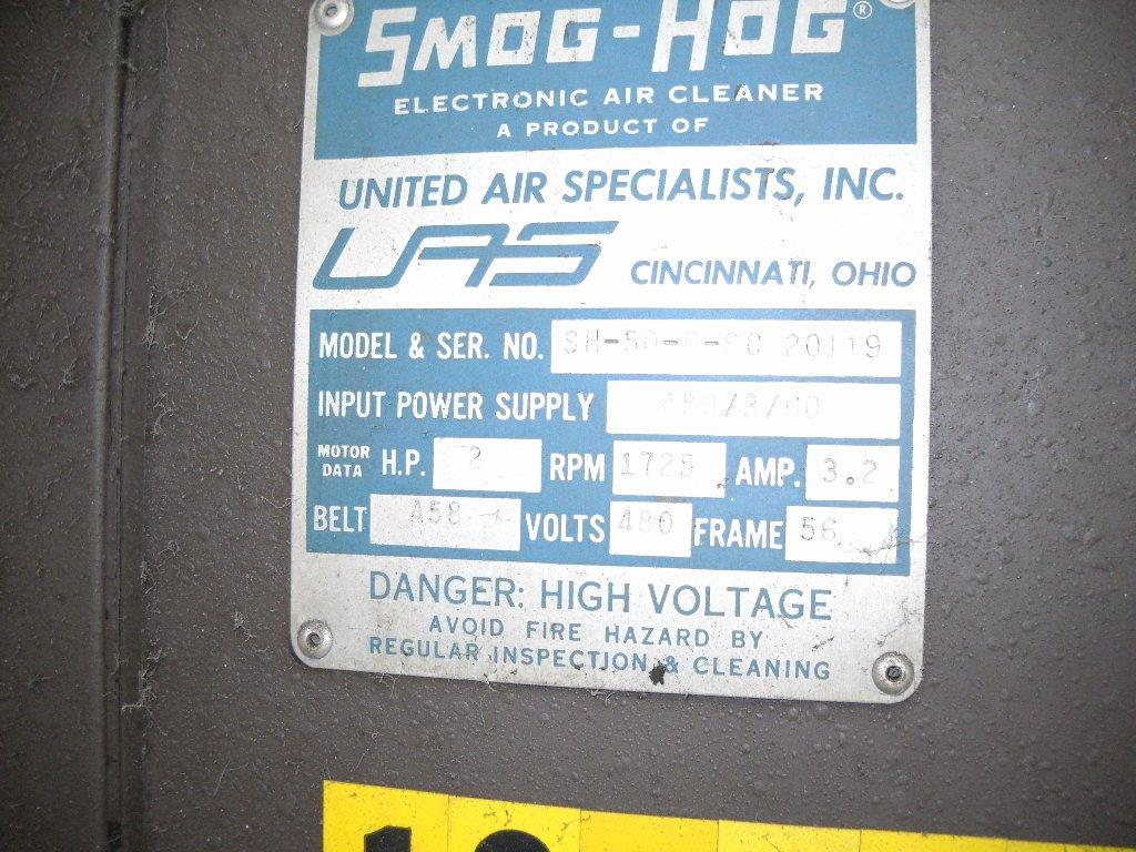 "United Air Specialists "" Smog Hog"" Model SH-5-P-SC Electronic Air Cleaner"
