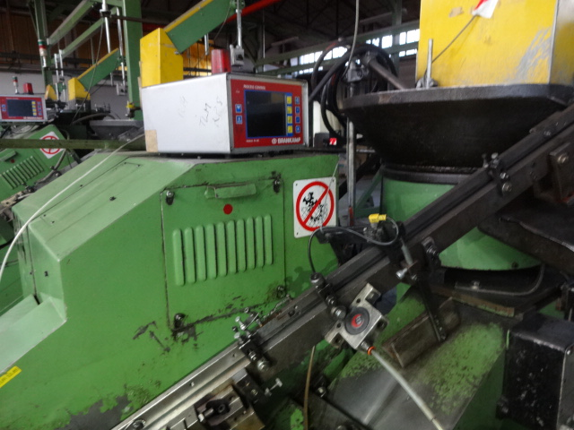TLM Model RP8 High Speed Incline Automatic Thread Roller