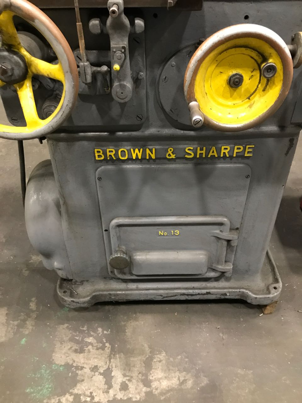 Brown and Sharpe Model 13 Tool and Cutter Grinder
