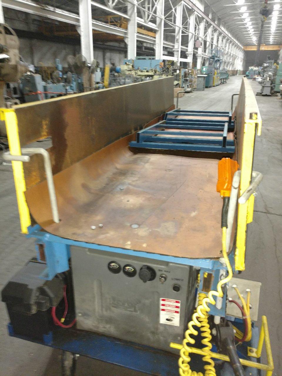Vestil Portable Scissor Lift Table Model PSTTP-3490-3-58