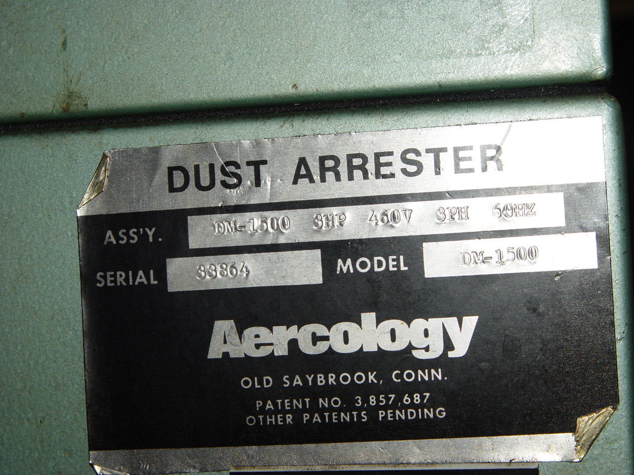 Aercology Dust Arrester Dust Collector