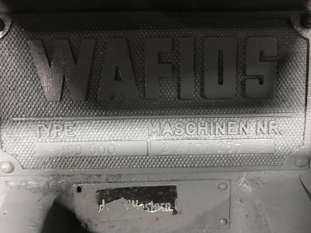 Wafios Model MSD500 Cutter Grinder