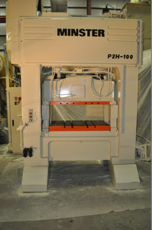 100 Ton Minster Model P2H-100-48 High Speed Hi Precision SSDC Press