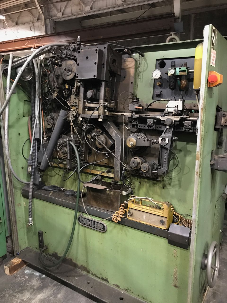 Bihler Model RM-40 Wire and Strip Forming Machine