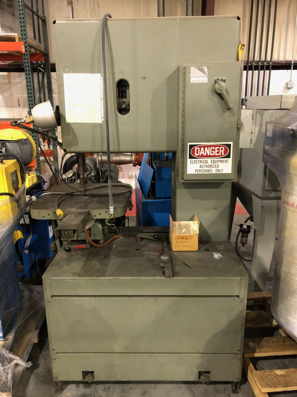 Grob Vertical Band Saw Model
