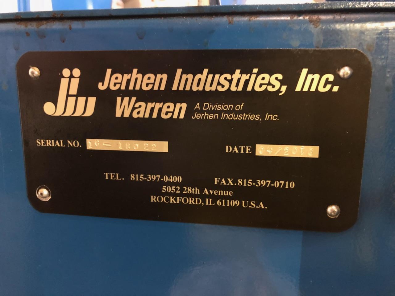 Jerhen-Warren Rotary Drum Parts Washer Model WW-500