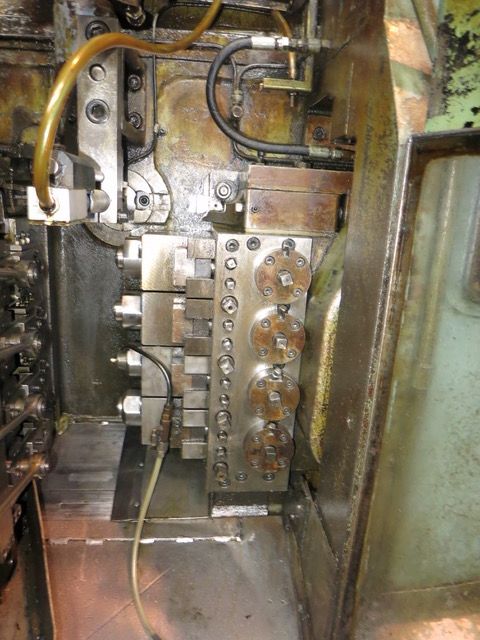 One Used Peltzer and Ehlers Model GB 2 Boltmaster with P&E NKW Pointing and Threading Machine