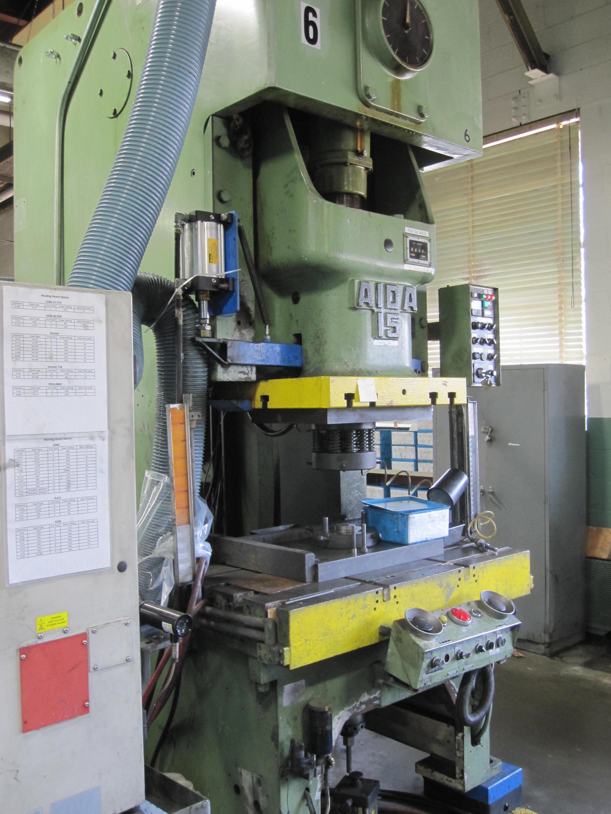 """Aida 150 Ton """"C"""" Frame Press"""