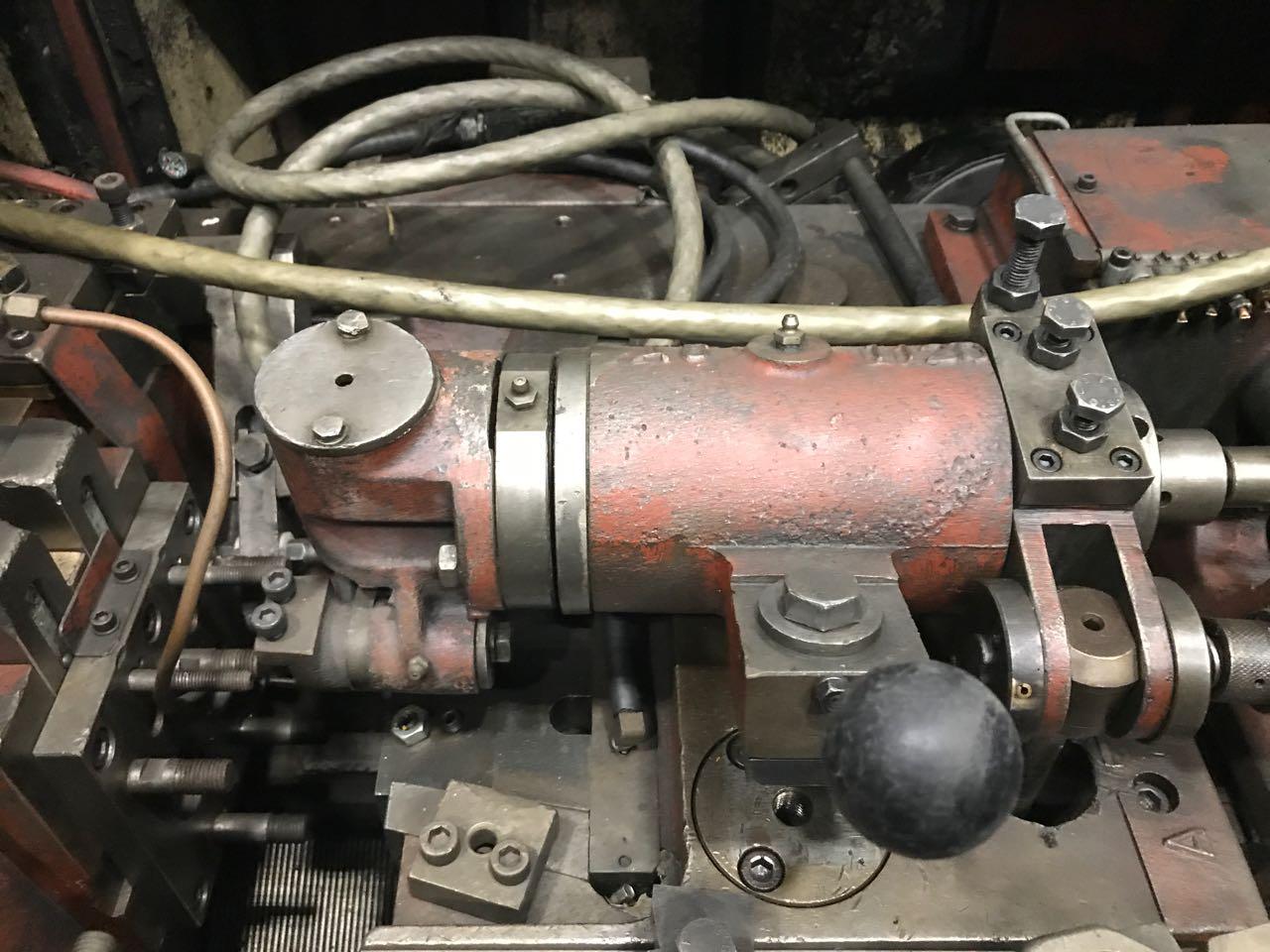 "1/4"" Asahi Okuma Model AT-635 2 Die 2 Blow Cold Header"