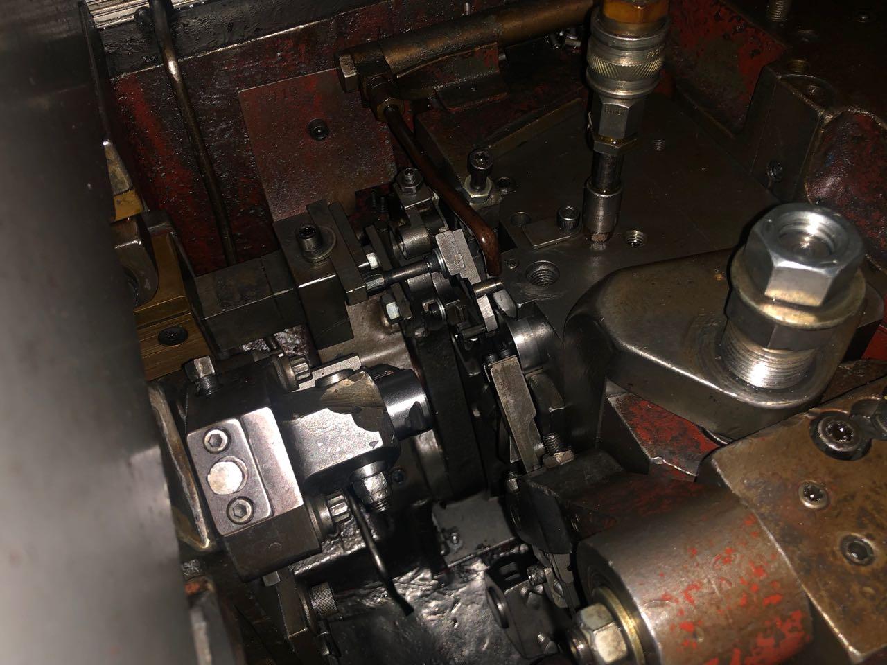 "3/16"" National High Speed Single Die Semi Tubular Rivet Header"
