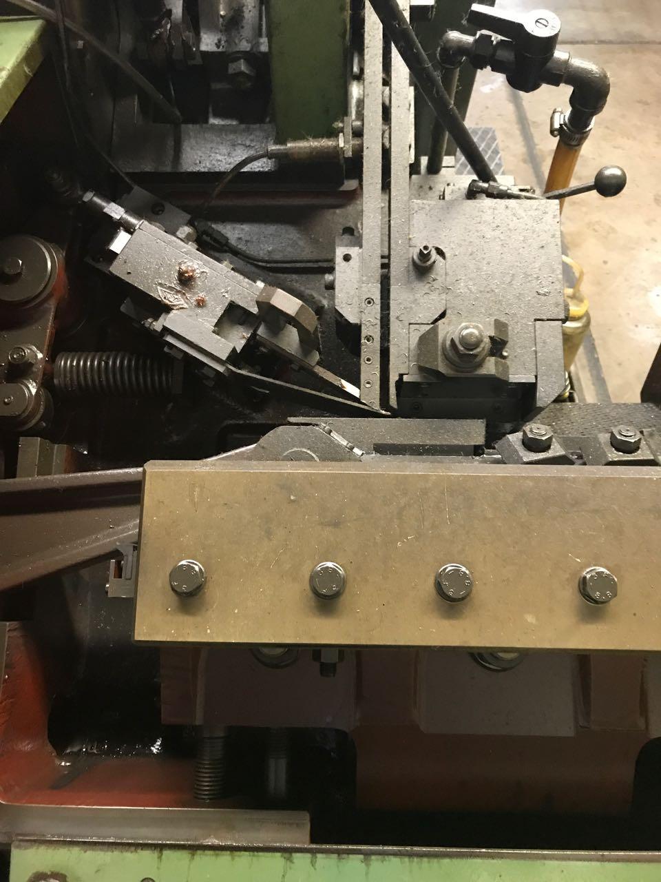 8mm Sacma  Model SP-27 4 Die High Speed Bolt Maker