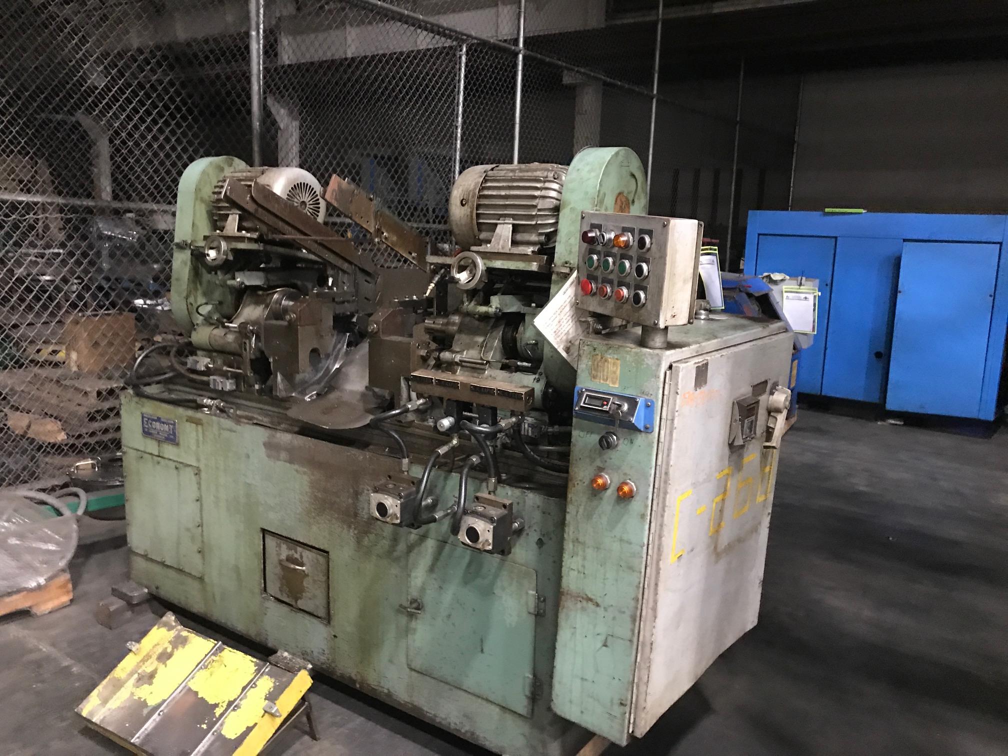 Economy Model FH-3810 Double End Finishing Machine