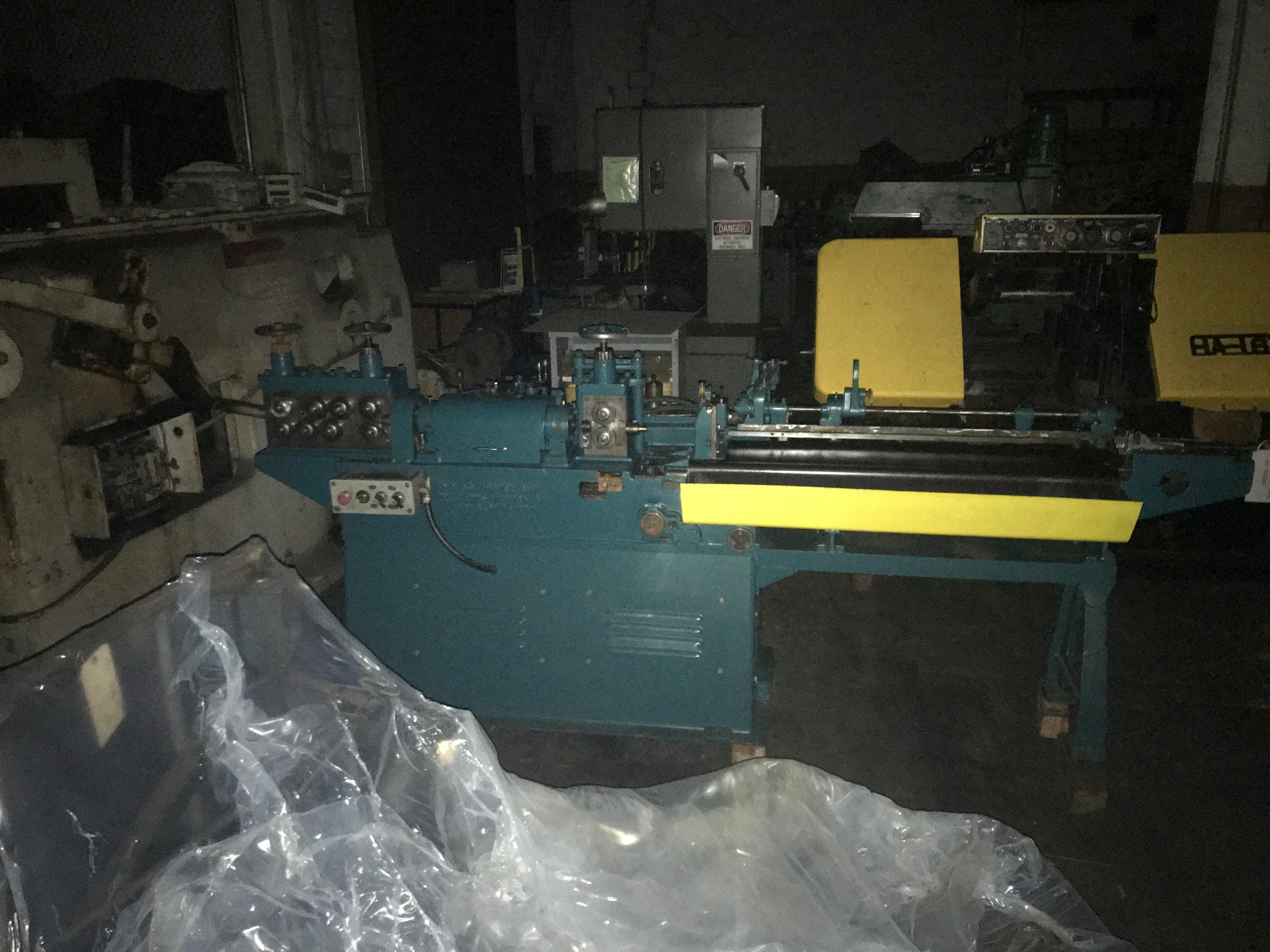 "3/16"" Lewis Model 3F WireStraighten and Cutoff Machine"