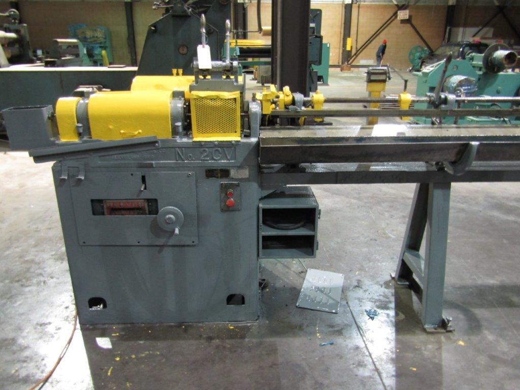 "5/16"" Lewis Model 2CV5 Straight and Cut Machine"