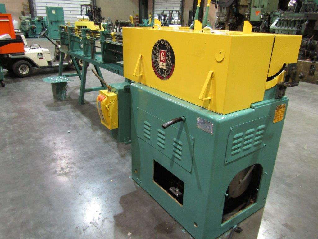 "5/16"" Lewis Model 2SV5 Straight and Cut Machine"