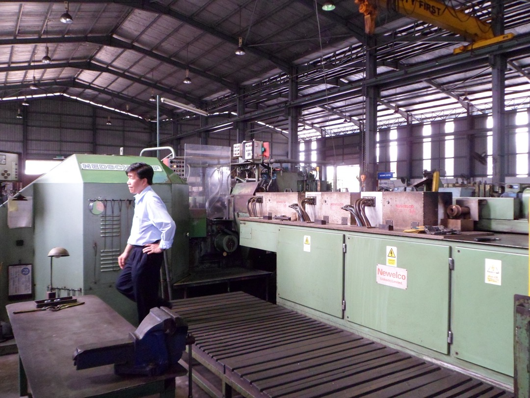 Nedschroef Model MW53 Hot Forming Line