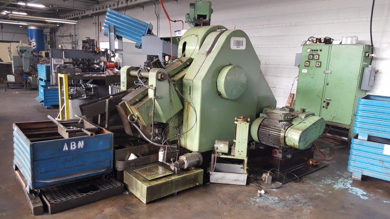 P&E Model NKW-16 Inclined Flat Die Thread Roller
