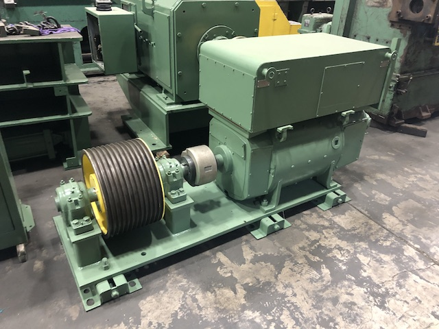 "1 1/4"" Lewis Model 15 VFHA Wire Straighten and Cutoff Machine"
