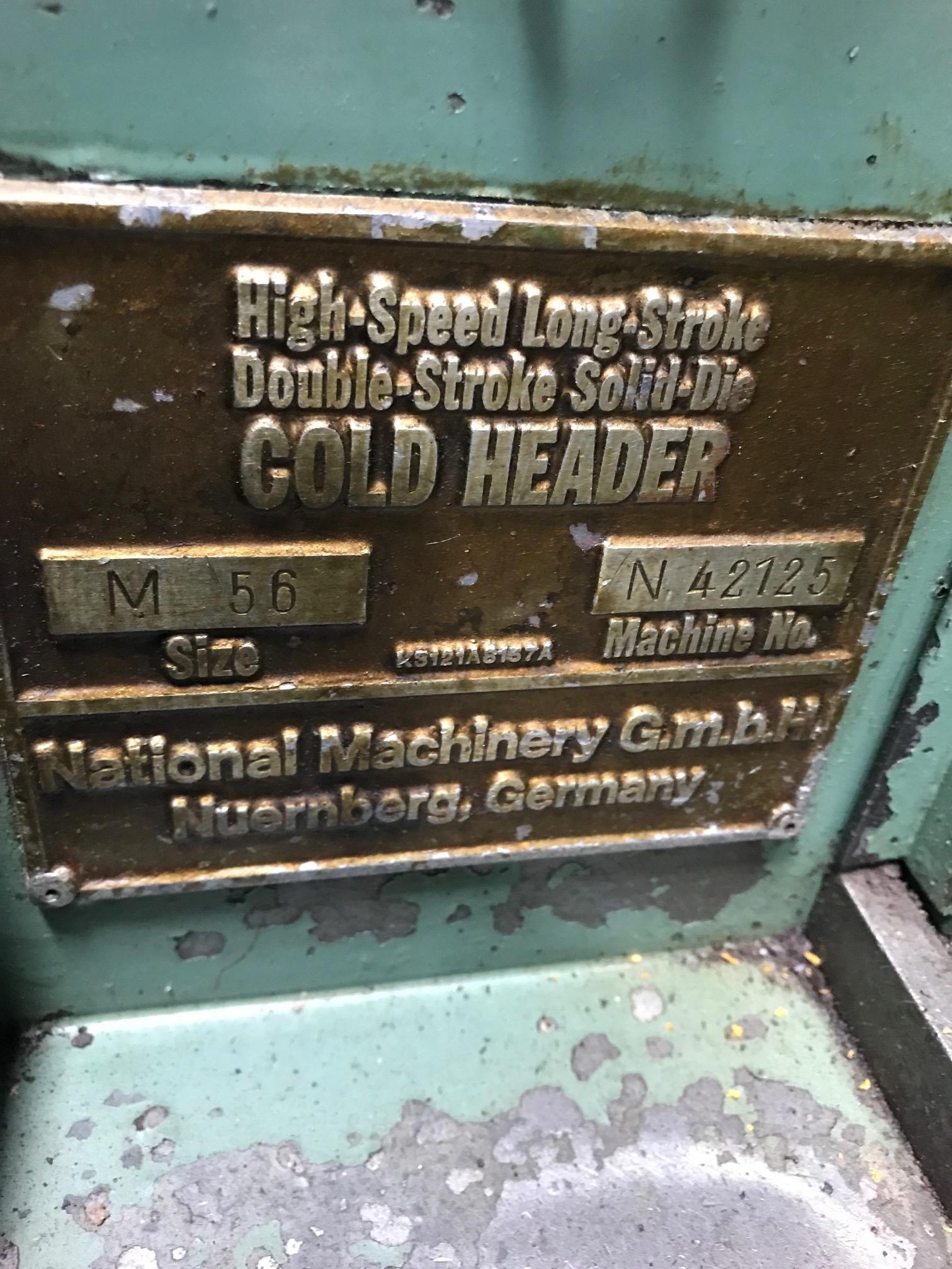 "1/4"" National Model M56 High Speed Long Stroke DSSD  Cold Header"