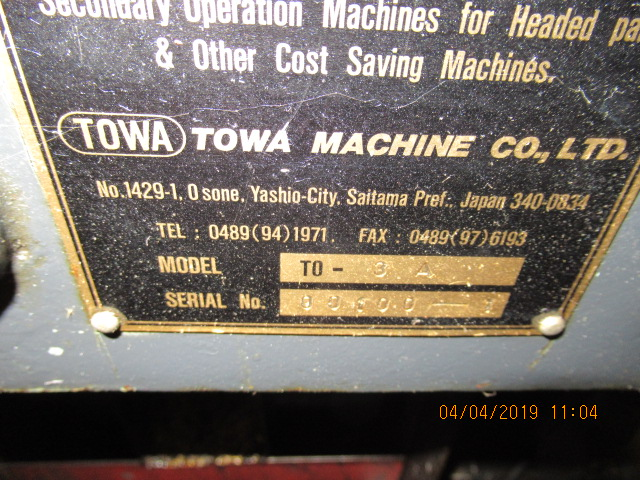 Towa Model TO-3A Shaver