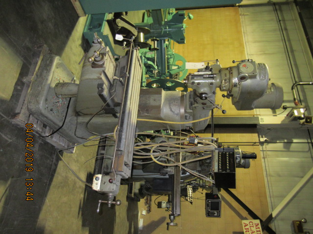 Bridgeport J Head Vertical Mill