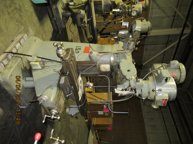 Bridgeport Vertical Mill Series I