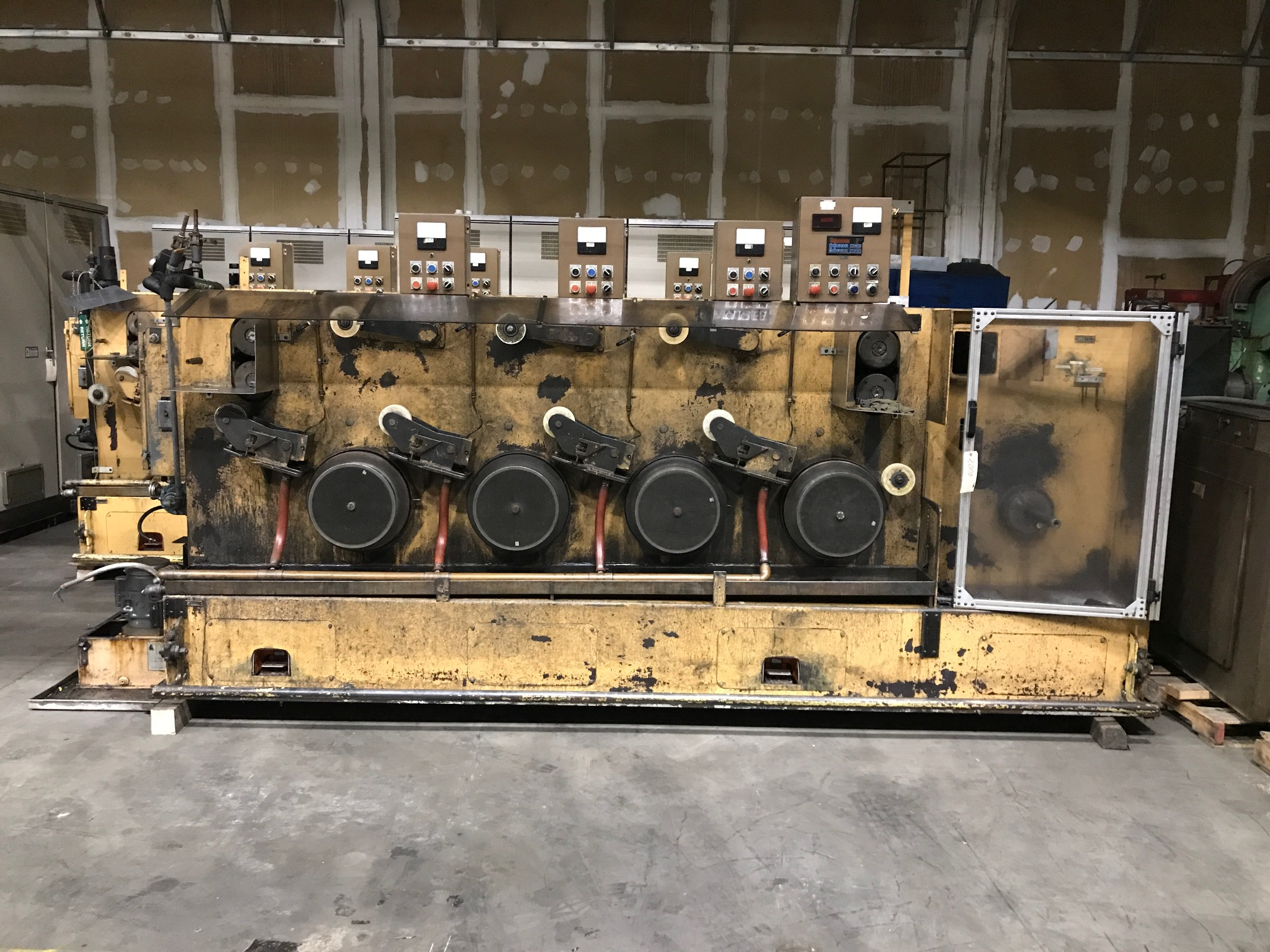 MacBee 4 Block Model 4HFME  Wire Drawing Machine