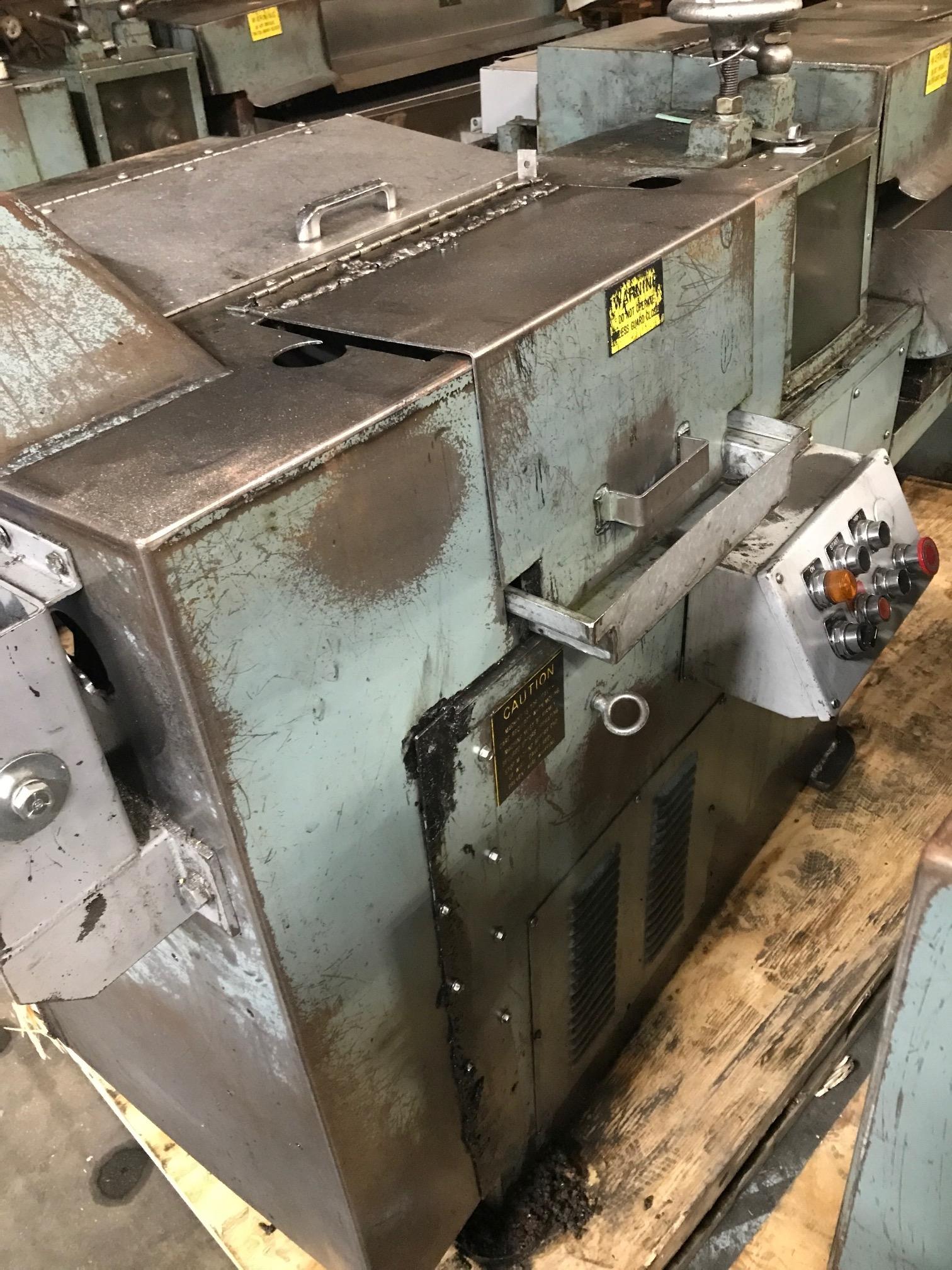 "5/16"" Shuster Model 2A4V Wire Straighten and Cutoff Machine"
