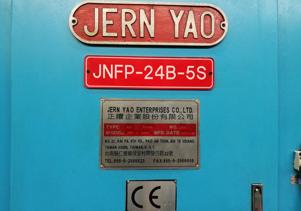 Jern Yao Model JNFP-24B-5S Cold Former