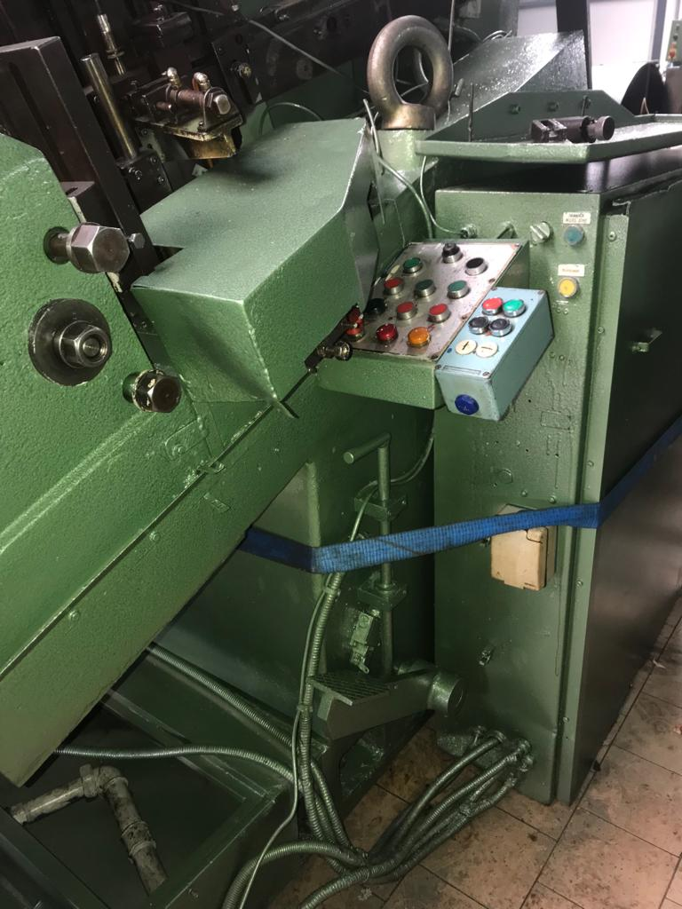 Saspi Model GV-6-50 Flat Die Thread Roller