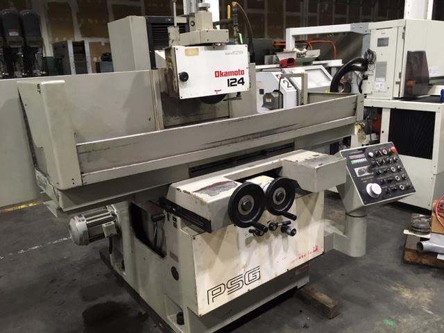 Okamoto 124D x 3 Axis CNC Surface Grinder
