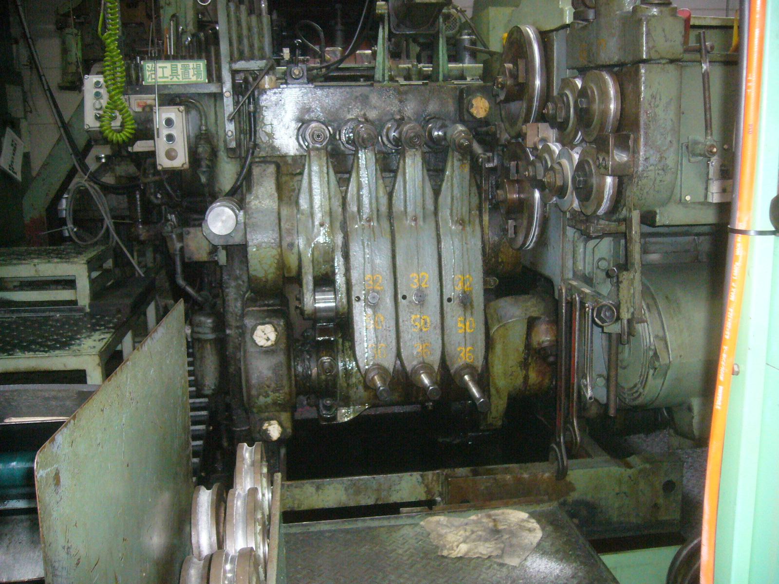 "5/8"" National Model S-1 4 Die Boltmaker"