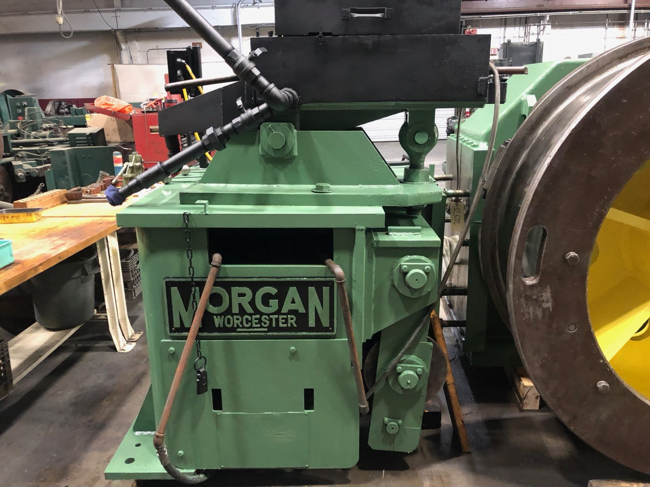 "1 1/4""  Morgan Model HOR  50-H In Line Wire Drawing Machine"