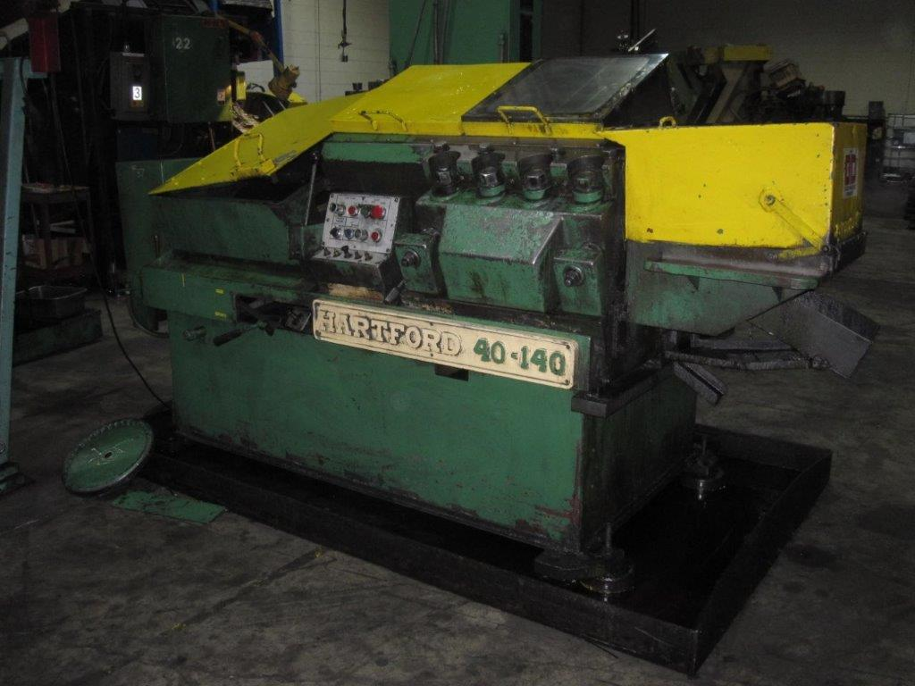 Hartford Model 40-140 High Speed Flat Die Thread Roller