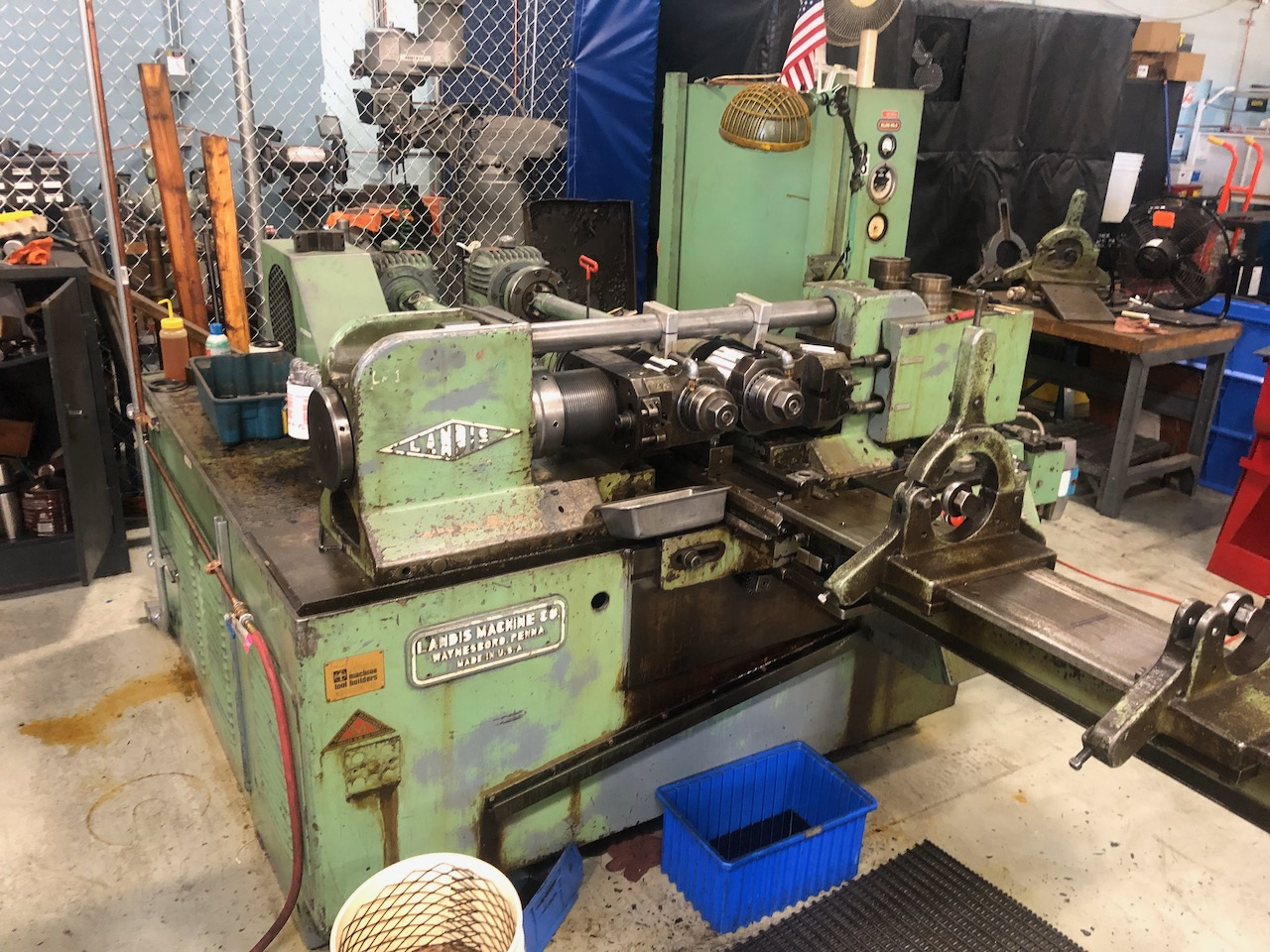 "4"" Landis Model 32TFRI 2 Die Cylindrical Thread Roller"