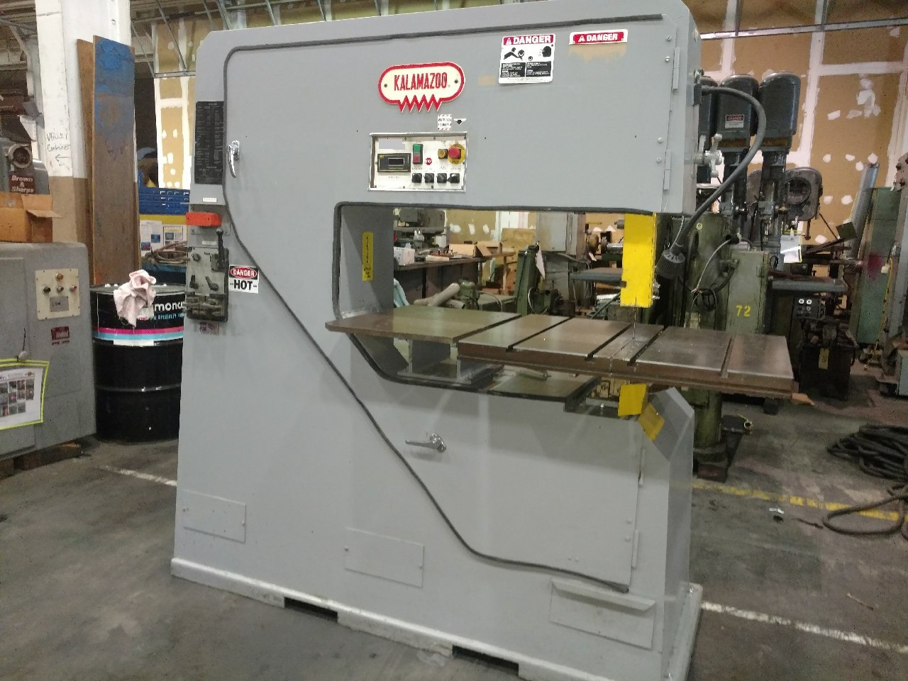 Kalamazoo Model VS-36 Vertical Band Saw