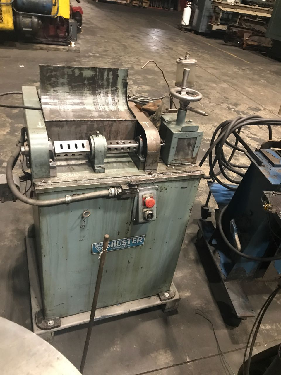 Shuster Model 16SFT Dual Arbor Wire Straightener
