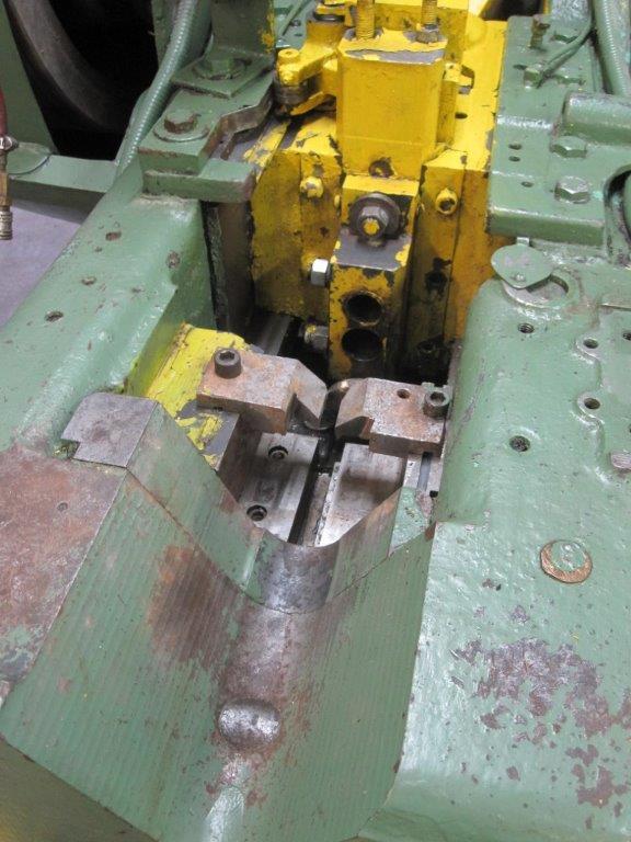 """5/16"""" Waterbury Farrel Model #1 Open Die Hand Feed Rod Header"""
