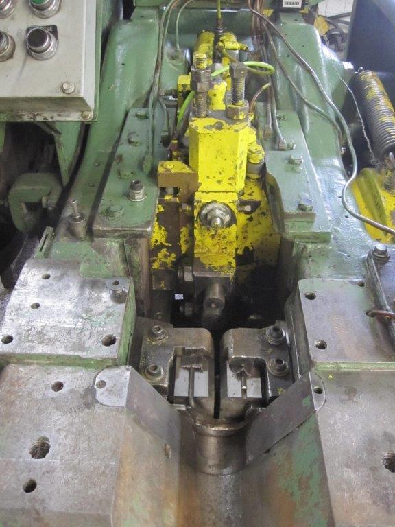 """1/4"""" Waterbury Farrel Model 00 Open Die Hand Feed Rod Header"""