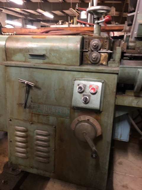 "5/64"" Shuster Model 200V Twin Arbor Wire Straightening and Cut Machine"