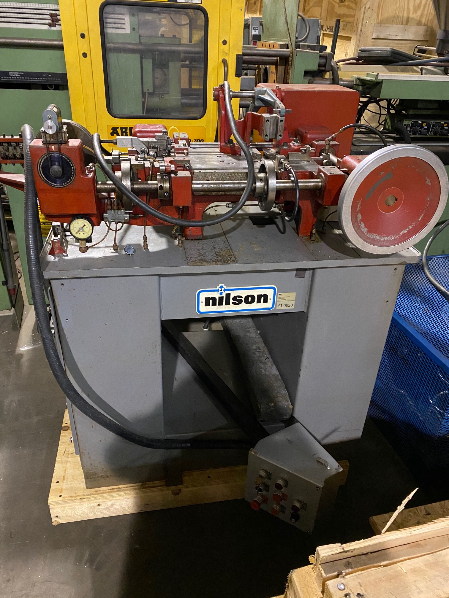 Nilson Model 700L 4 Slide Wire Forming Machine