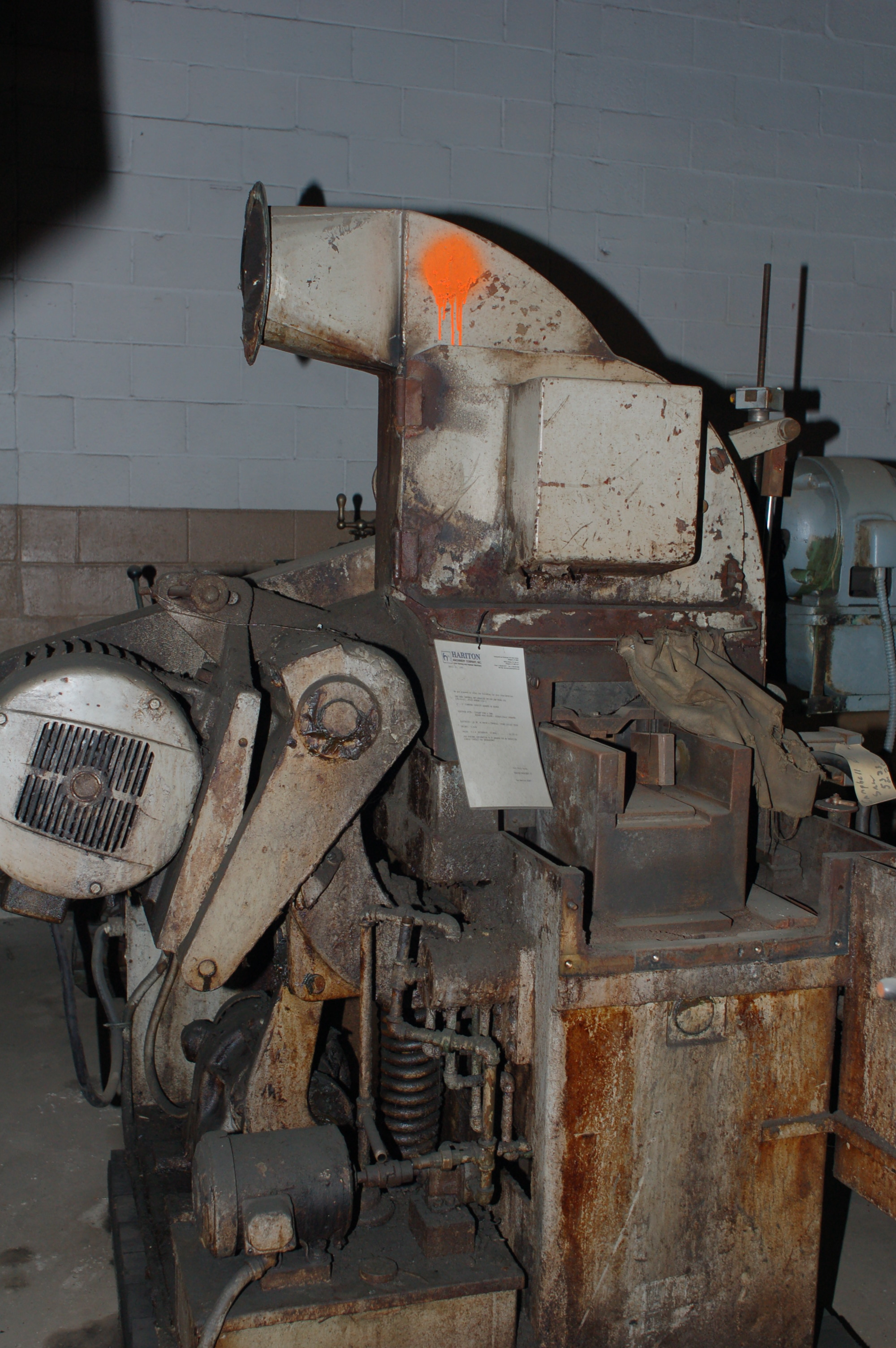Campbell Model 406 Wet Abrasive Cut-Off Saw