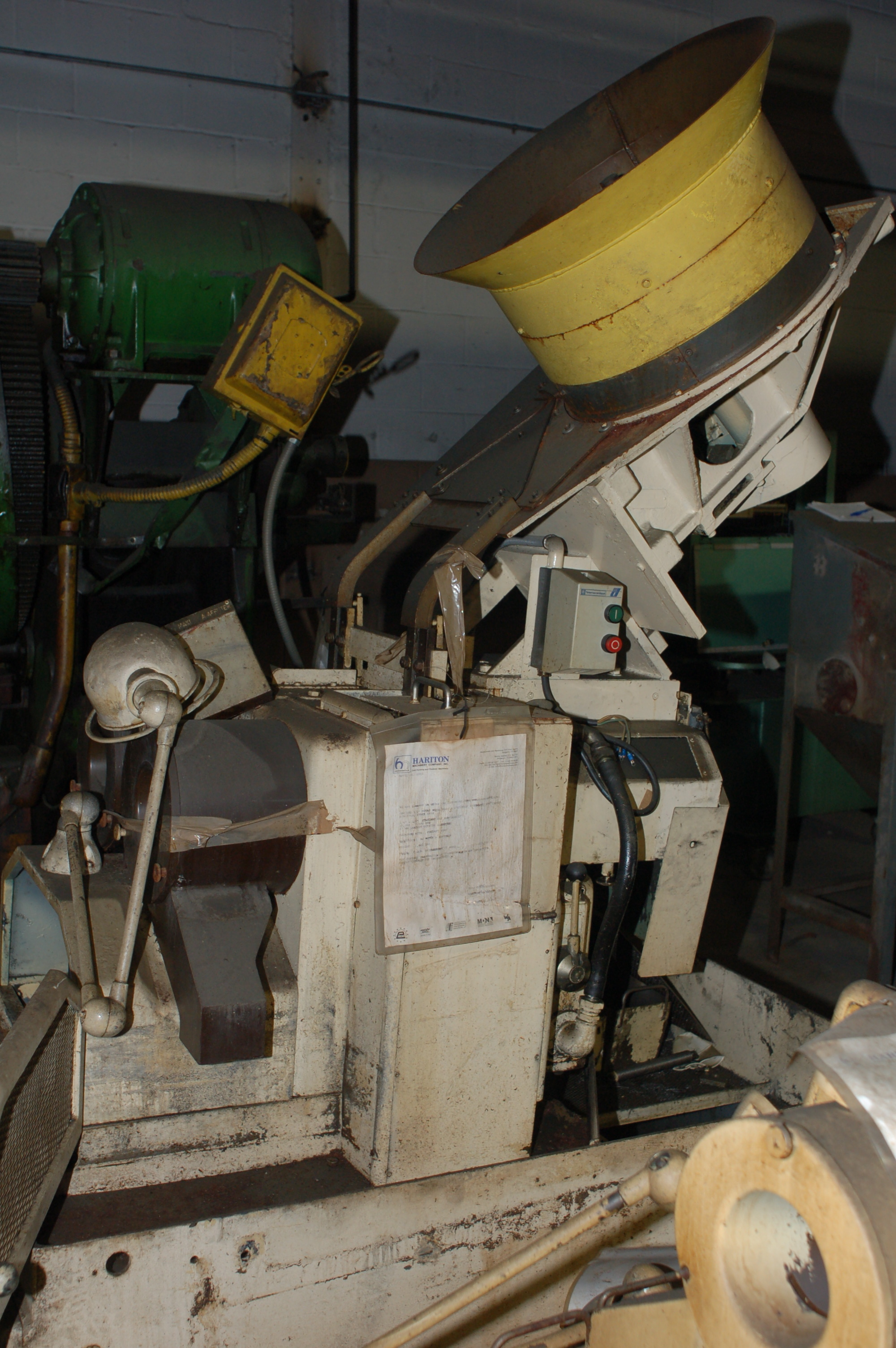 """1/2"""" Nutap Model MAS-14 2 Spindle  Automatic Nut Tapper"""