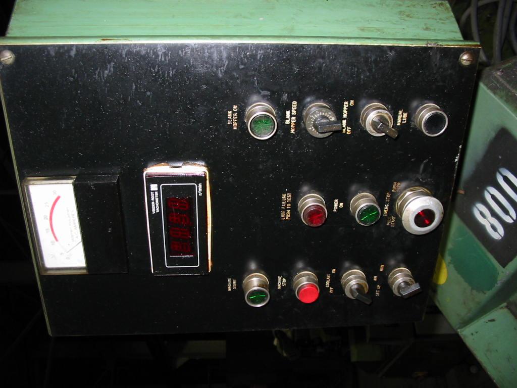 "1/4""  Warren Model WT-1000 High Speed Thread Roller"