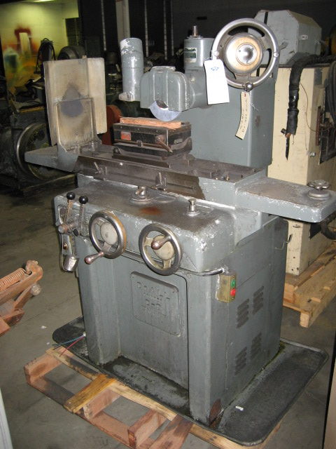 6x12 Do-All Model D-6 Surface Grinder