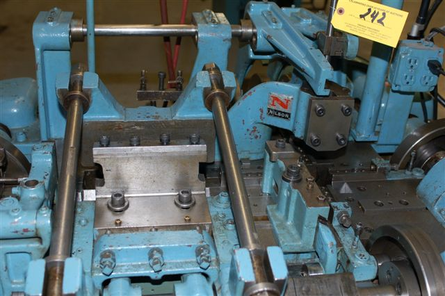 """3/32"""" Nilson Model S-1-F Fourslide Wire Forming Machine"""