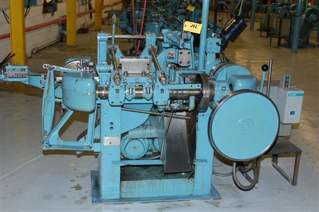 "3/32"" Nilson Model S-1-F Fourslide Wire Forming Machine"