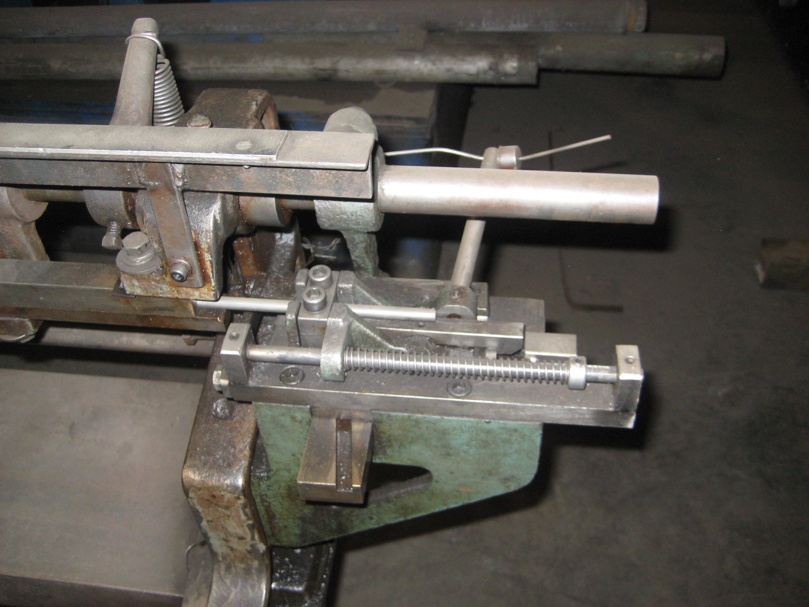 """1/4"""" Lewis Model 2C Wire Straightener and Cutoff Machine"""